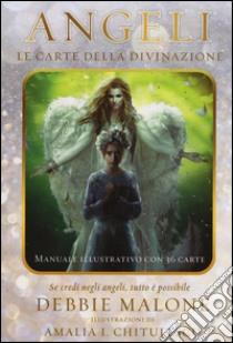 Angeli. Le carte della divinazione. Con 36 carte libro di Malone Debbie