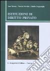 Istituzioni di diritto privato libro