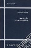 Saggi sulla scienza giuridica libro