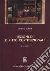 Lezioni di diritto costituzionale libro
