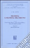 Filosofia e filosofia del diritto libro