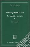 Omnis potestas a Deo. Tra romanità e cristianità. Vol. 2: Parte speciale libro