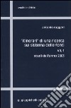 Itinerari di una ricerca sul sistema delle fonti (7/1) libro