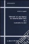 Itinerari di una ricerca sul sistema delle fonti (7/2) libro