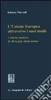 L'Unione Europea attraverso i suoi media. Content analysis di 28 testate elettroniche libro