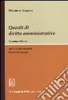 Quesiti di diritto amministrativo libro