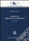 Lezioni di diritto ecclesiastico libro