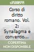 Corso di diritto romano (2) libro