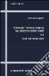 «Itinerari» di una ricerca sul sistema delle fonti (8) libro