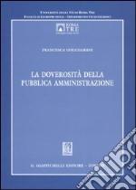 La doverosità della pubblica amministrazione