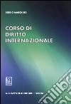 Corso di diritto internazionale libro