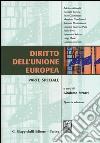 Diritto dell'Unione Europea. Parte speciale libro
