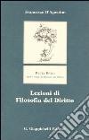 Lezioni di filosofia del diritto libro