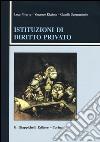 Istituzioni di diritto privato libro di Nivarra Luca - Ricciuto Vincenzo - Scognamiglio Claudio