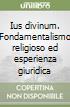 Ius divinum. Fondamentalismo religioso ed esperienza giuridica