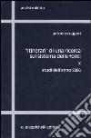 «Itinerari» di una ricerca sul sistema delle fonti (10) libro