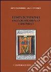 Elementi essenziali dell'ordinamento canonico libro