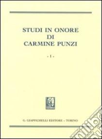 Studi in onore di Carmine Punzi libro