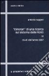 «Itinerari» di una ricerca sul sistema delle fonti (11) libro
