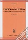 L'impresa come sistema. Contributo sull'Approccio Sistemico Vitale (ASV) libro