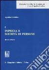 Impresa e società di persone (1) libro
