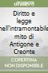 Diritto e legge nell'intramontabile mito di Antigone e Creonte
