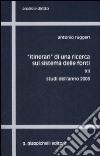 «Itinerari» di una ricerca sul sistema delle fonti (12) libro