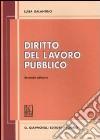 Diritto del lavoro pubblico libro