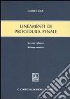 Lineamenti di procedura penale libro