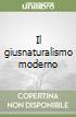 Il giusnaturalismo moderno libro