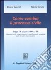 Come cambia il processo civile libro