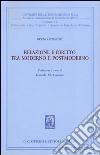 Relazione e diritto tra moderno e postmoderno libro