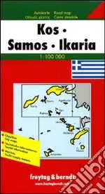 Kos, Samos, Ikaria 1:100.000 libro