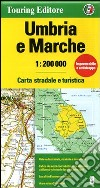 Umbria e Marche 1:200.000 libro
