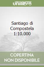 Santiago di Compostela 1:10.000 libro