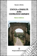 Statica e stabilit delle costruzioni murarie libro di Olivito Renato