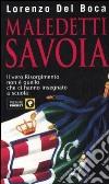 Maledetti Savoia libro