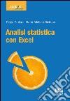 Analisi statistica con Excel libro