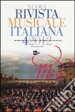Nuova rivista musicale italiana (2012). Vol. 4 libro
