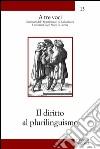 Il diritto al plurilinguismo libro