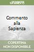Commento alla Sapienza libro