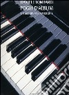 Fogli d'album. Un metodo per pianoforte libro