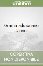 Grammadizionario latino libro