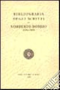 Bibliografia degli scritti di Norberto Bobbio (1934-1993) libro