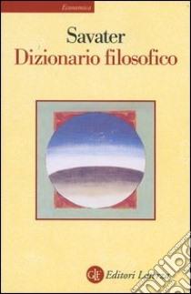 Dizionario filosofico libro di Savater Fernando