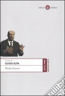 Paolo Grossi libro