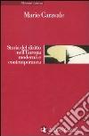 Storia del diritto nell'Europa moderna e contemporanea libro