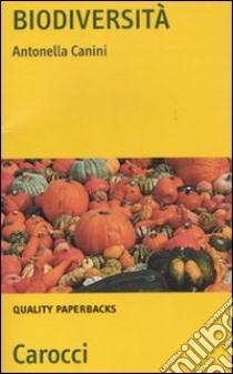 Biodiversità libro di Canini Antonella