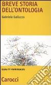 Breve storia dell'ontologia libro