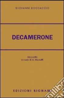 Le cento novelle del Decamerone libro di Boccaccio Giovanni